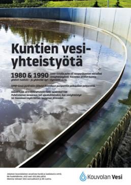 1980- ja 1990-luvuilla kunnat tekivät vesiyhteistyötä. Mäkikylän jätevedenpuhdistamo saneerattiin.