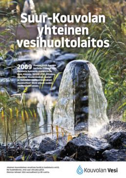 Kouvolan Vesi muodostettiin Elimäen, Kouvolan, Kuusankosken, Jaalan ja Valkealan vesihuoltolaitoksista.