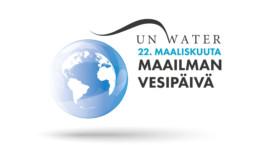 Maailman vesipäivän logo